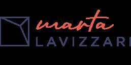 Quadrato e scritta Marta Lavizzari