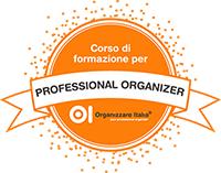 Coccarda corso Professional organizer